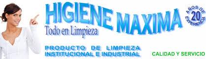 logo higiene maxima